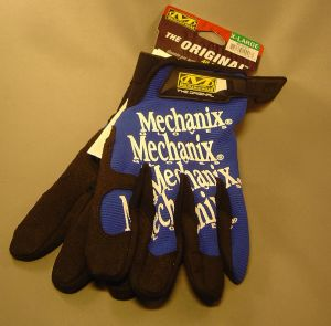 Gants Mechanix Original bleu XL