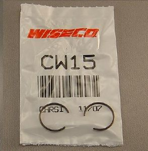 CW15 clips piston d.15 x 1